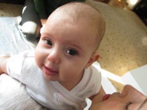 Babies enjoy Alexander Technique