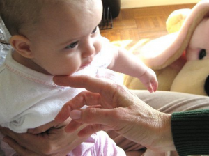 Alexander Technique helps babies improve their feeding and digestion